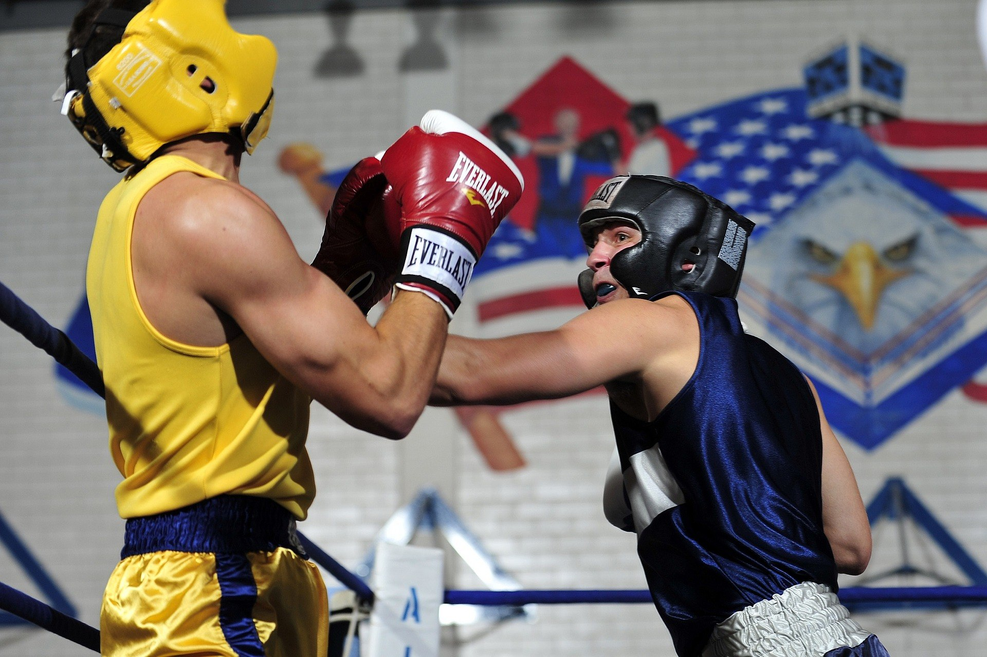 boxing with braces